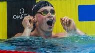 Peaty verbessert Weltrekord zweimal