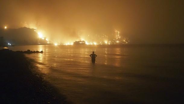 Mindestens 60.000 Hektar sind schon verbrannt