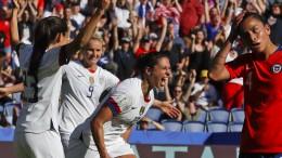 Gegen Chile ist Amerika nicht ganz so treffsicher