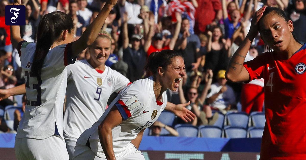 Frauenfußball-WM: Amerika und Schweden im Achtelfinale