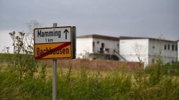 Corona-Testzelt für Einwohner von Mamming