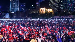 Tausende protestieren in Hongkong