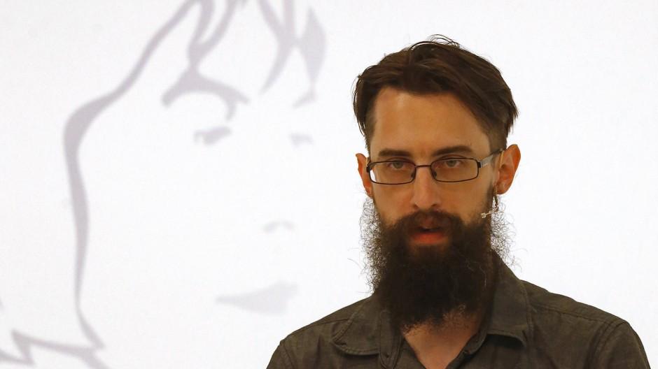"""Clemens J. Setz bei der Eröffnung der """"43. Tage der deutschsprachigen Literatur"""" in Klagenfurt Ende Juni 2019"""