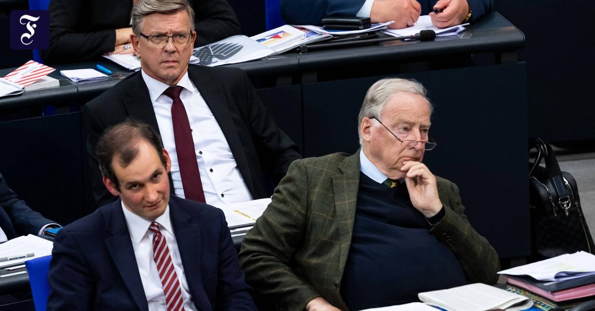 AfD-Kandidat Otten fällt bei Wahl zum Bundestags-Vizepräsidenten durch