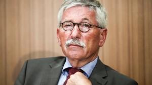 Sarrazins Ausschluss aus der SPD rechtmäßig