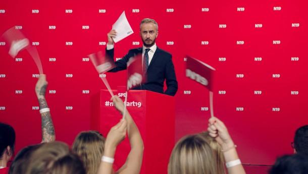 Hat Böhmermann jetzt ein SPD-Parteibuch?