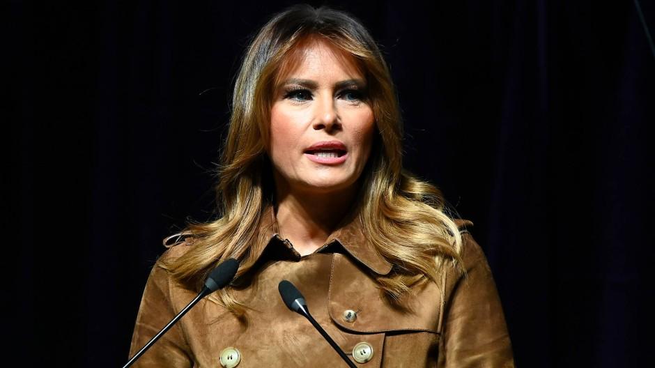 Hatte keinen entspannten Aufenthalt in Baltimore: First Lady Melania Trump