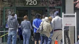 Arbeitslosenquote in Amerika geht zurück