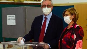 Stichwahl um Präsidentenamt in Nordzypern