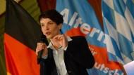 Wie lässt sich die AfD entdämonisieren? Frauke Petry im Münchner Hofbräukeller.
