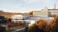 Passau blickt voraus: Das Internationale Wissenschaftszentrum von Riepl & Riepl Architekten aus Linz soll ein Leuchtturm der bayerischen Hightech-Agenda werden.