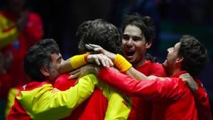 Spanien gewinnt dank Nadal den Davis Cup