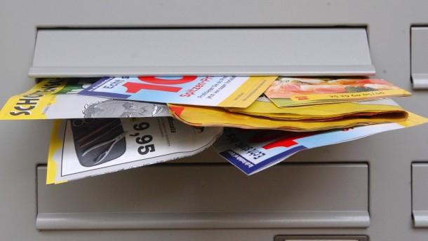 Urteil gegen unerwünschte Reklame im Briefkasten