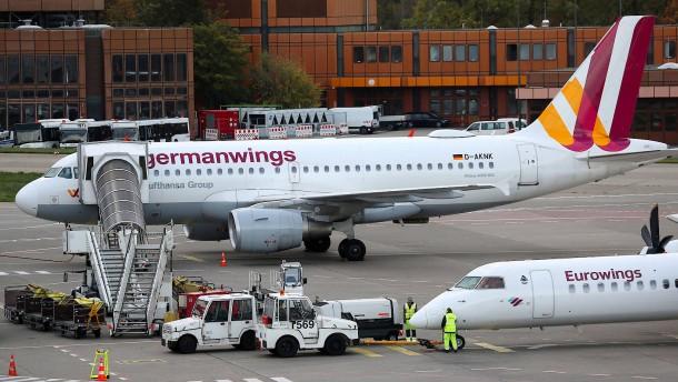 Flugbegleiter wollen Germanwings drei Tage lang bestreiken