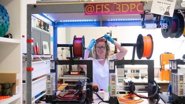 Provisorische Hilfe aus 3-D-Druckern