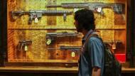 In Amerika steigt der Umsatz der Schusswaffenhersteller nach Amokläufen.