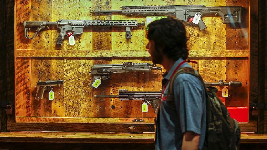 Attentat in Las Vegas: Verkaufszahl von Schusswaffen steigt