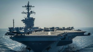 Verwirrung um amerikanischen Flugzeugträger