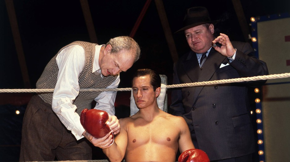 """""""Die Bubi Scholz Story"""" (Roland Suso Richter, 1998; hier mit Benno Fürmann und Horst Krause)"""