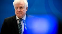 """Seehofer: """"Maßnahmen zeigen gewünschte Wirkung"""""""