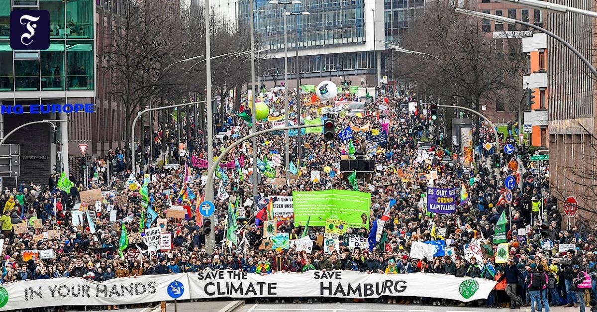 """Greta Thunberg in Hamburg: """"Wir streiken bis ihr handelt"""""""