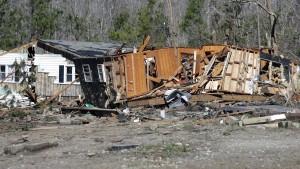 Tornado sorgt für Verwüstungen