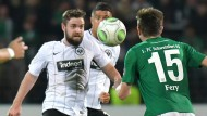 Wieder am Ball: Jetzt muss Eintracht-Antreiber Marc Stendera nur noch gesund und frei von Verletzungssorgen bleiben.