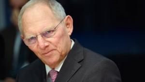 """Schäuble besorgt um """"Würde des Amtes"""" der Kanzlerin"""
