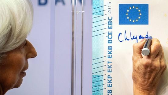 Neue Signatur für den Euro