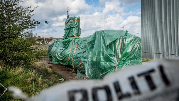 U-Boot nach Mord an schwedischer Journalistin zerstört