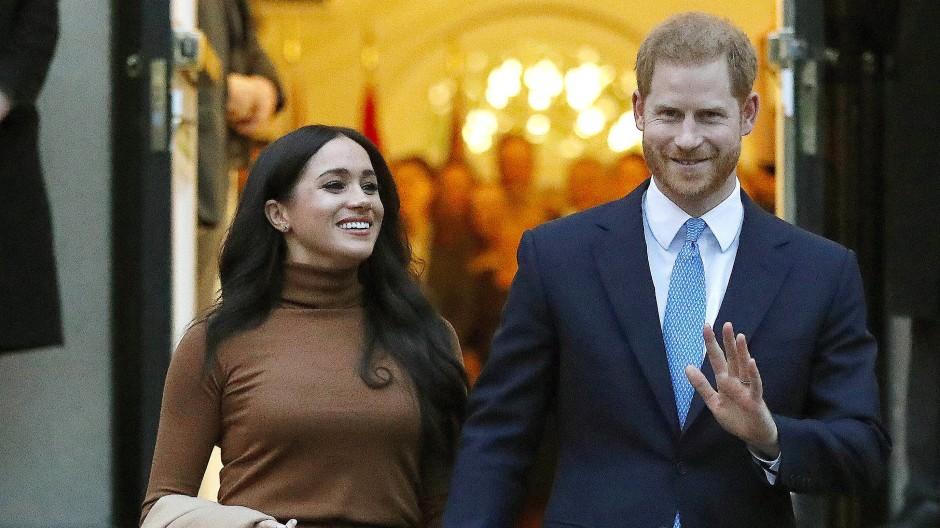 Wollen ganz normal luxuriös leben: Meghan und Harry