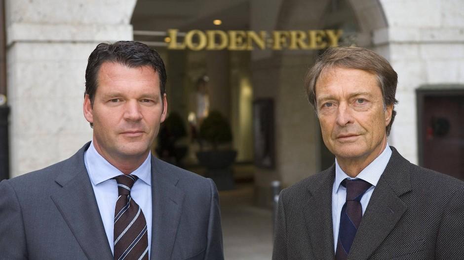Lodenfrey-Geschäftsführer Markus Höhn und Gesellschafter Ralph-Michael Nagel.