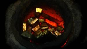 Goldaktien leiden mehr als Gold