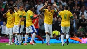 Brasilien und Mexiko im Finale