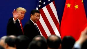 """China wirft Amerika """"reinen Wirtschaftsterrorismus"""" vor"""