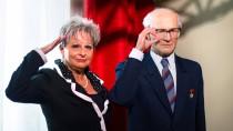 Salut für Erich: Die Moderatorin Dagmar Frederic