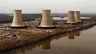 Das Kernkraftwerk Three Mile Island wenige Tage nach der Kernschmelze im Jahr 1979.
