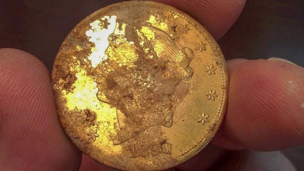Goldmünzen sind womöglich Diebesgut
