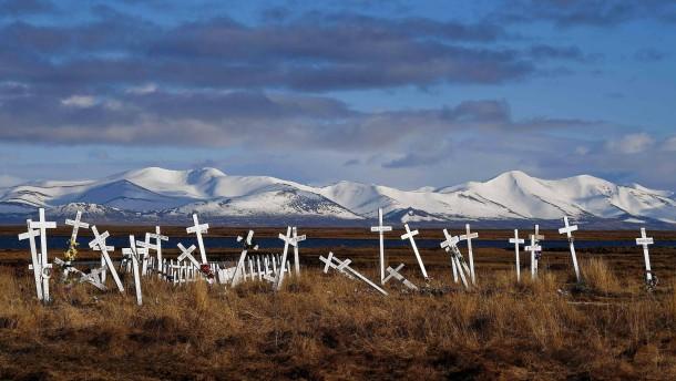 Kohlenstoffbombe im Permafrost
