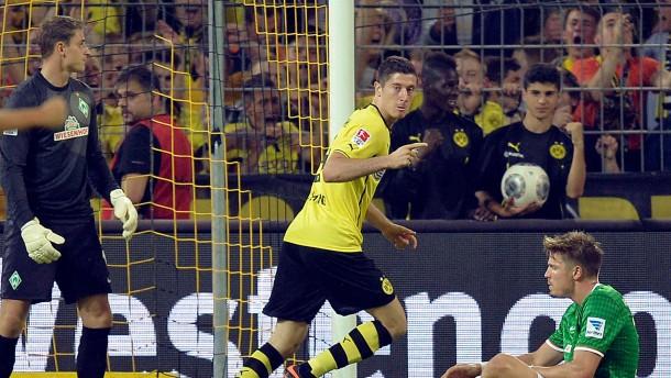 Nur eine Schwarz-Gelbe sticht aus der Reihe