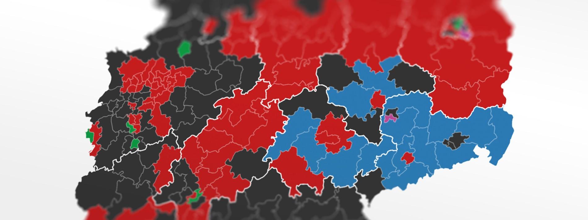 Alle Ergebnisse der Bundestagswahl 2021
