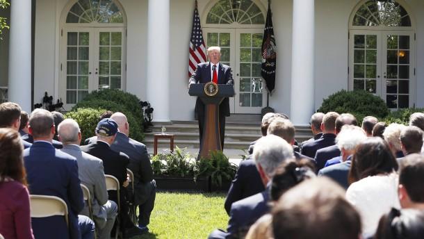 Amerika offiziell aus Pariser Klimaabkommen ausgetreten
