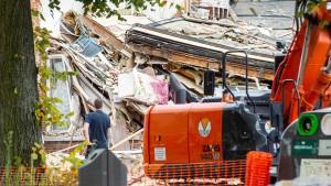 Tote Frau nach Explosion in Antwerpen gefunden
