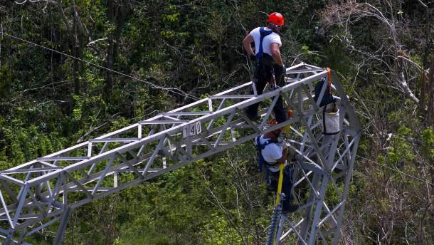 Wirbel um Großauftrag für Minifirma in Puerto Rico