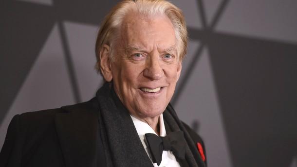 Ehren-Oscar für Donald Sutherland