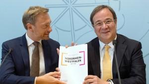 """Schwarz-gelb bläst in NRW zur """"Aufholjagd"""""""
