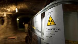 Atommüll widerrechtlich eingelagert