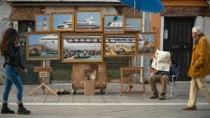 Rätsel um angebliches Banksy-Kunstwerk in Venedig