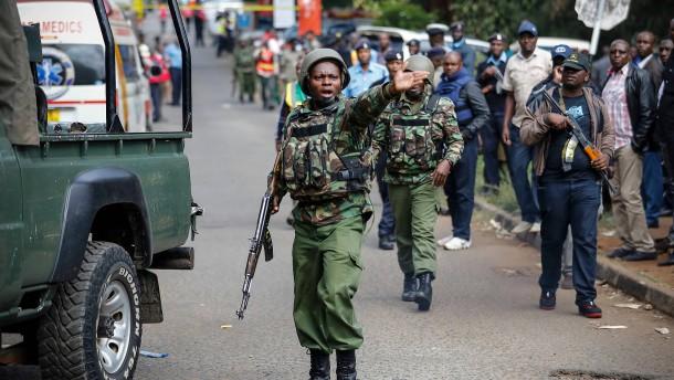 Zahl der Toten in Nairobi erhöht sich auf 21
