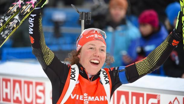 Dahlmeier sprintet zu Bronze